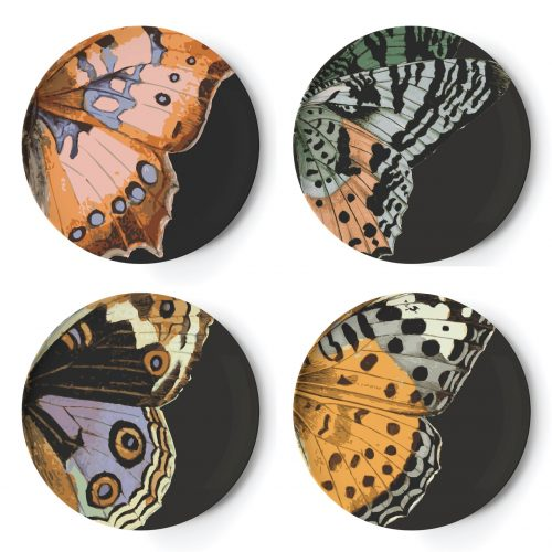 Thomas Paul - Metamorphosis Melamine Dinner Plates