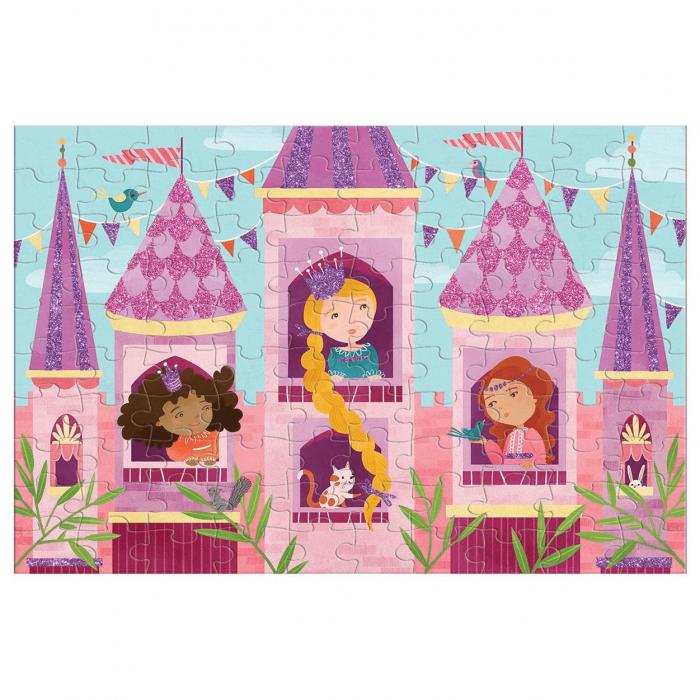 Princess Glitter 100 Piece Jigsaw Puzzle