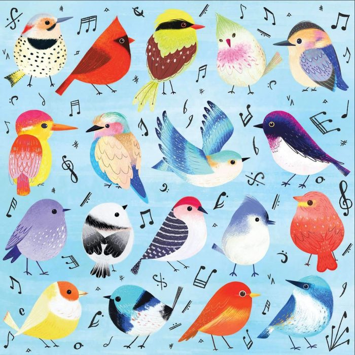 Songbirds 500 Piece Jigsaw Puzzle