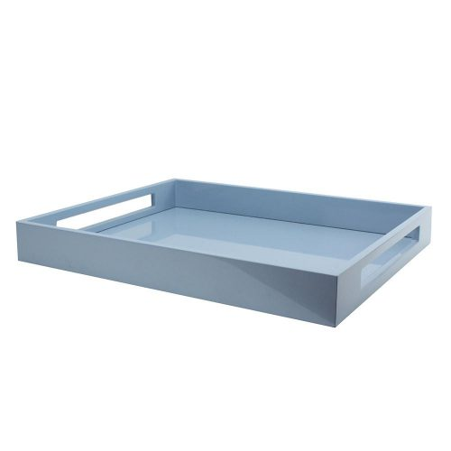 Pale Denim Ottoman Medium Tray Blue