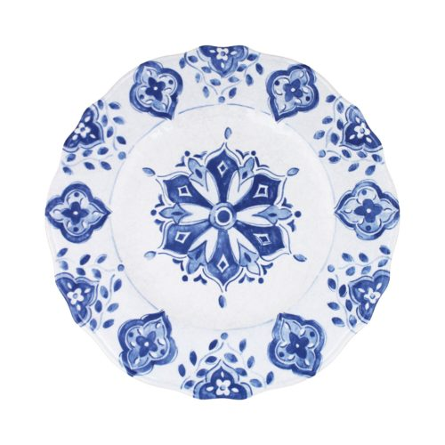 "Le Cadeaux Moroccan Melamine Campania 11"" Dinner Plate"