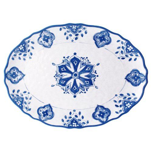 """Le Cadeaux Moroccan Melamine Benidorm Platter 16"""""""
