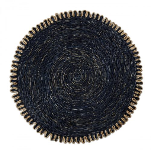 Cottage Abaca Navy Placemat - Set of 2