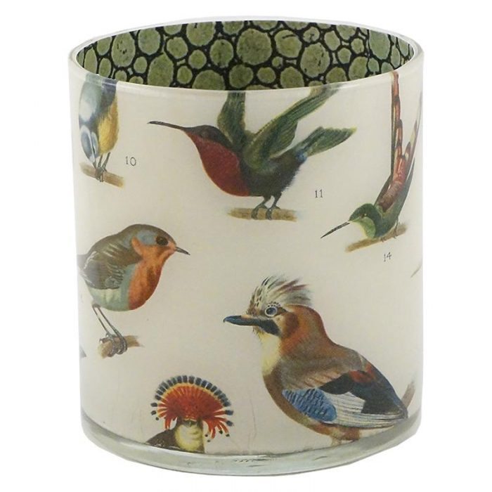 John Derian - Numbered Birds Desk Cup