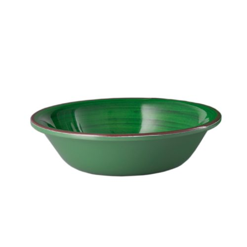 "Mario Luca Giusti - ""Saint Tropez"" Melamine Salad/Cereal Bowl, Green"
