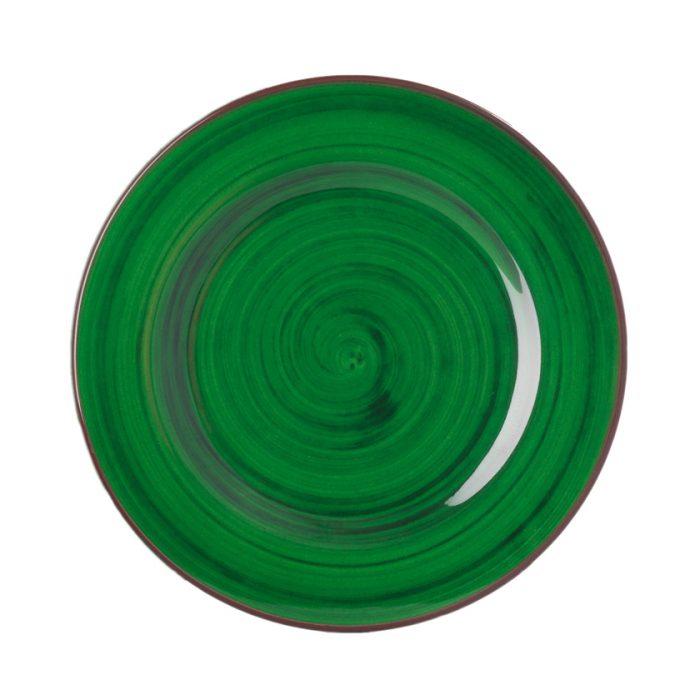 "Mario Luca Giusti - ""Saint Tropez"" Melamine Dessert/Salad Plate, Green"