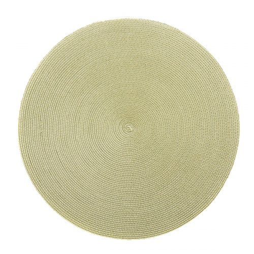 Round Moss/Canary Placemat - Set of 2
