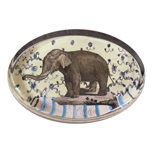 John Derian - Elephant Dome Paperweight