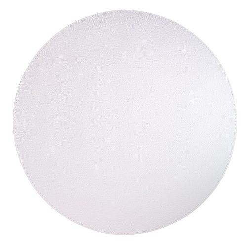 Bodrum Placemat Round Presto Pure White