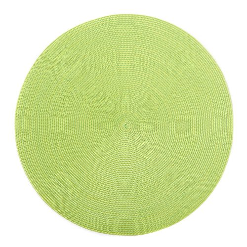 Round Lemon/Mint Placemats - Set of 2