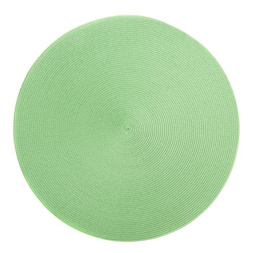 Round Mint Placemats - Set of 2