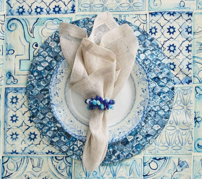 Kim Seybert Camellia Placemat - Set of 2