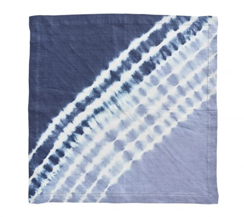 Duo Dye Navy & Periwinkle Napkin - Set of 2