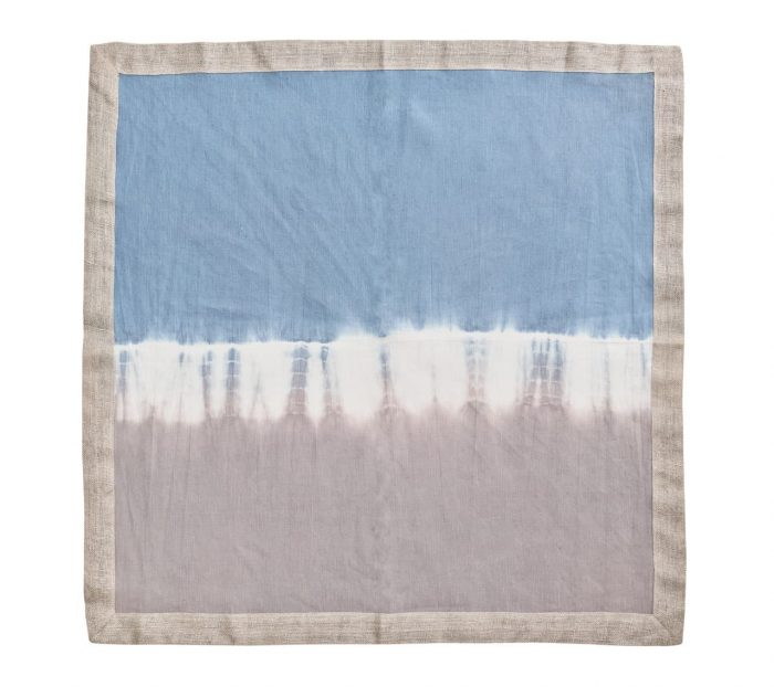 Solstice Grey and Blue Napkin - Set of 2