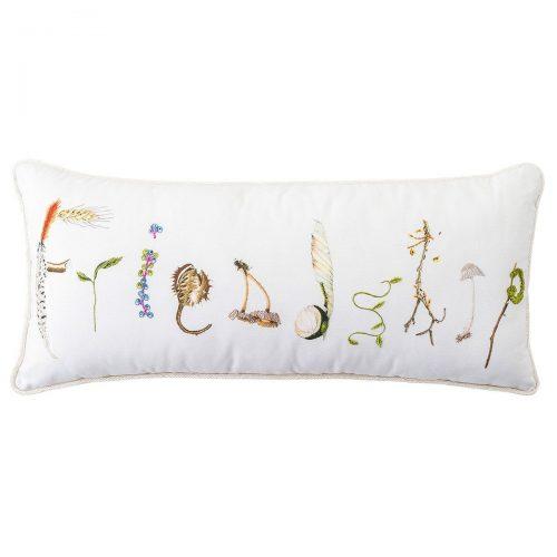 """Juliska Pillow - Forest Walk Friendship 11"""" x 22"""" Pillow"""