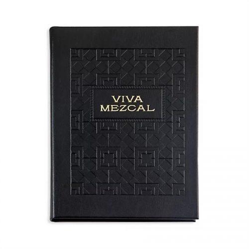 Viva Mezcal Black Bonded Leather - Book
