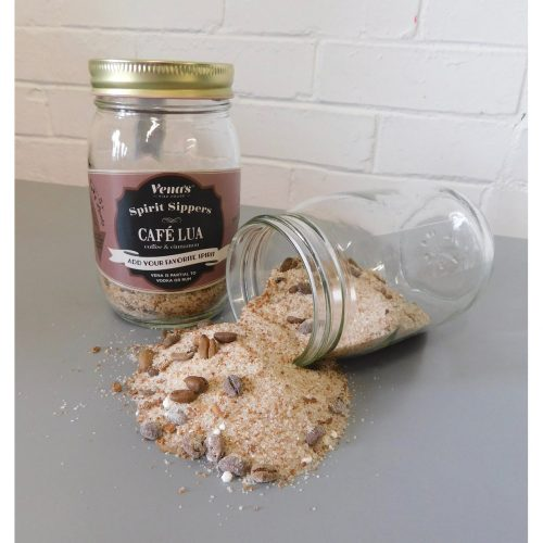 Vena's Fizz House - Cafe Lua Vodka Infusion Jar