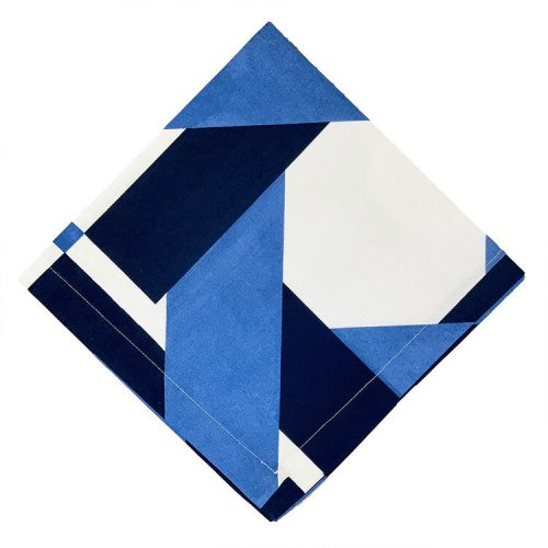 Deco Cotton Blue Napkin - Set of 2