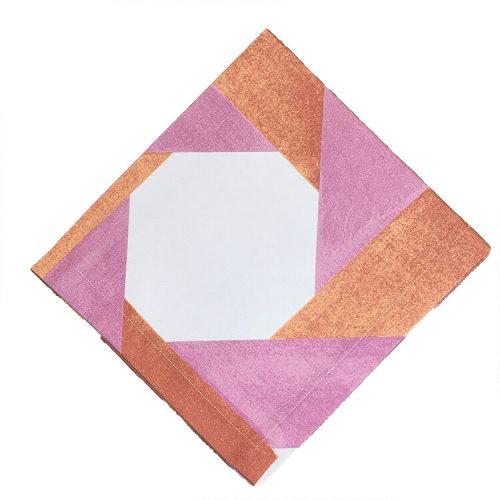 Deco Cotton Pink Napkin - Set of 2