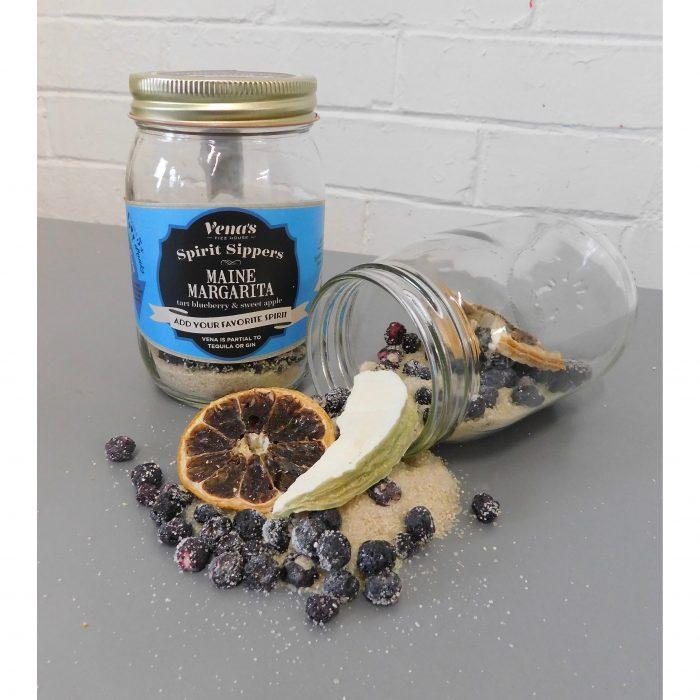 Vena's Fizz House - Maine Margarita Tequila Infusion Jar