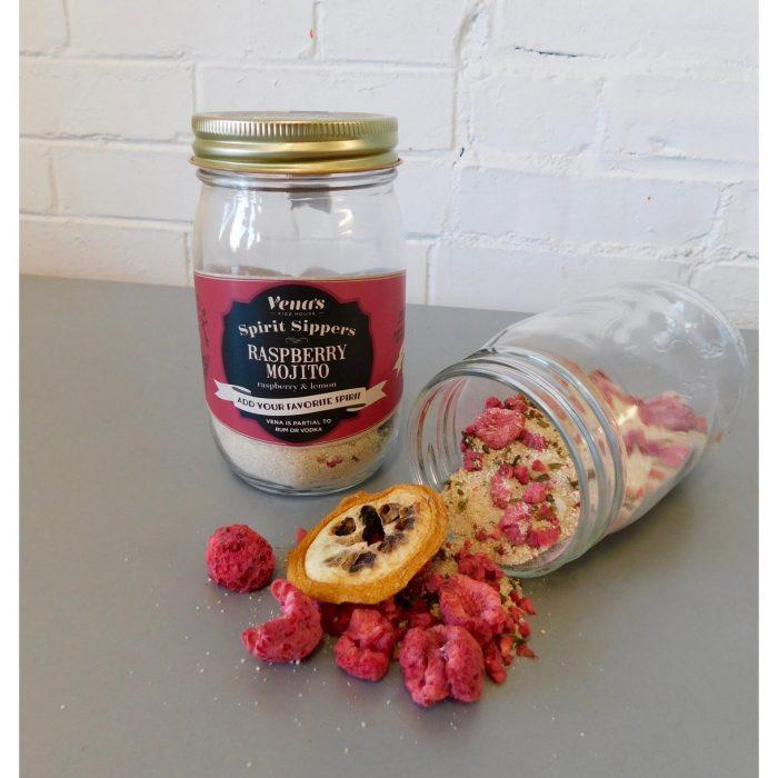 Vena's Fizz House - Raspberry Mojito Rum Infusion Jar