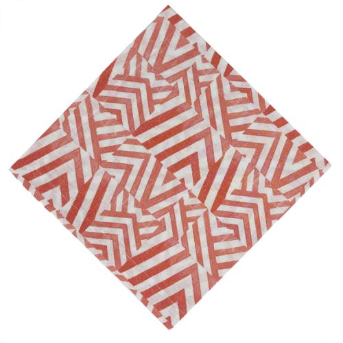 Tile Coral Napkin - Set of 2