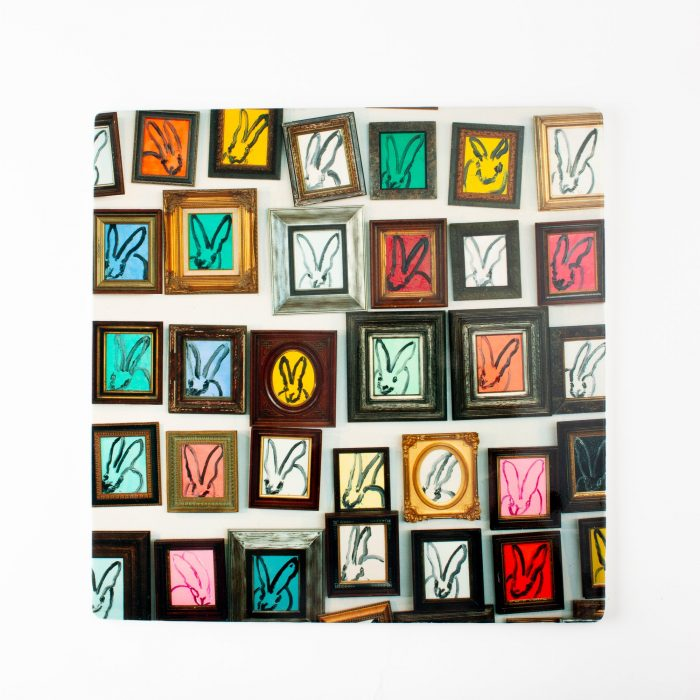 Hunt Slonem-Hunt's Studio Square Lacquered Placemat