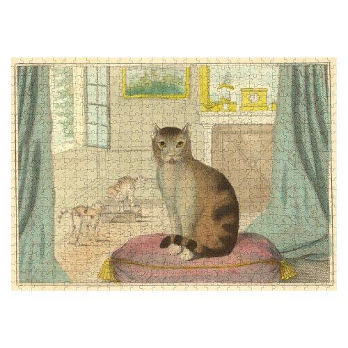 Calm Cat, John Derian 750 Piece Puzzle