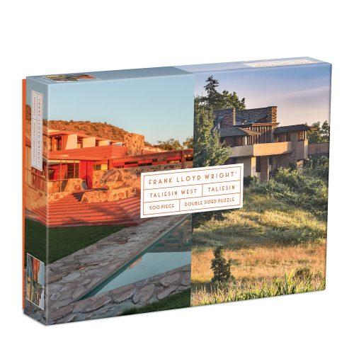 Frank Lloyd Wright Taliesin and Taliesin West 500 Piece Puzzle