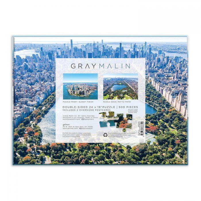 Gray Malin New York City Double-Sided Puzzle