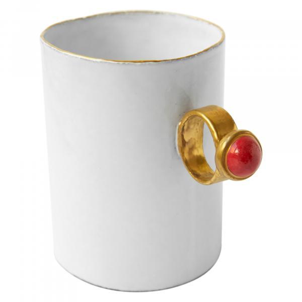 Astier De Villatte Red Ring Cup