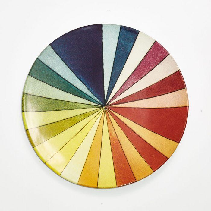 Astier De Villatte-John Derian Color Wheel Platter