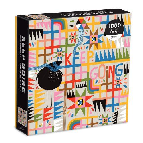 Keep Going 1000 Piece Panoramic Jigsaw Puzzle