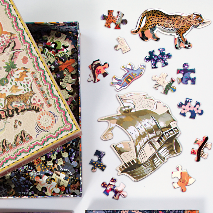 Liberty London Maxine Double-Sided 500 Piece Puzzle