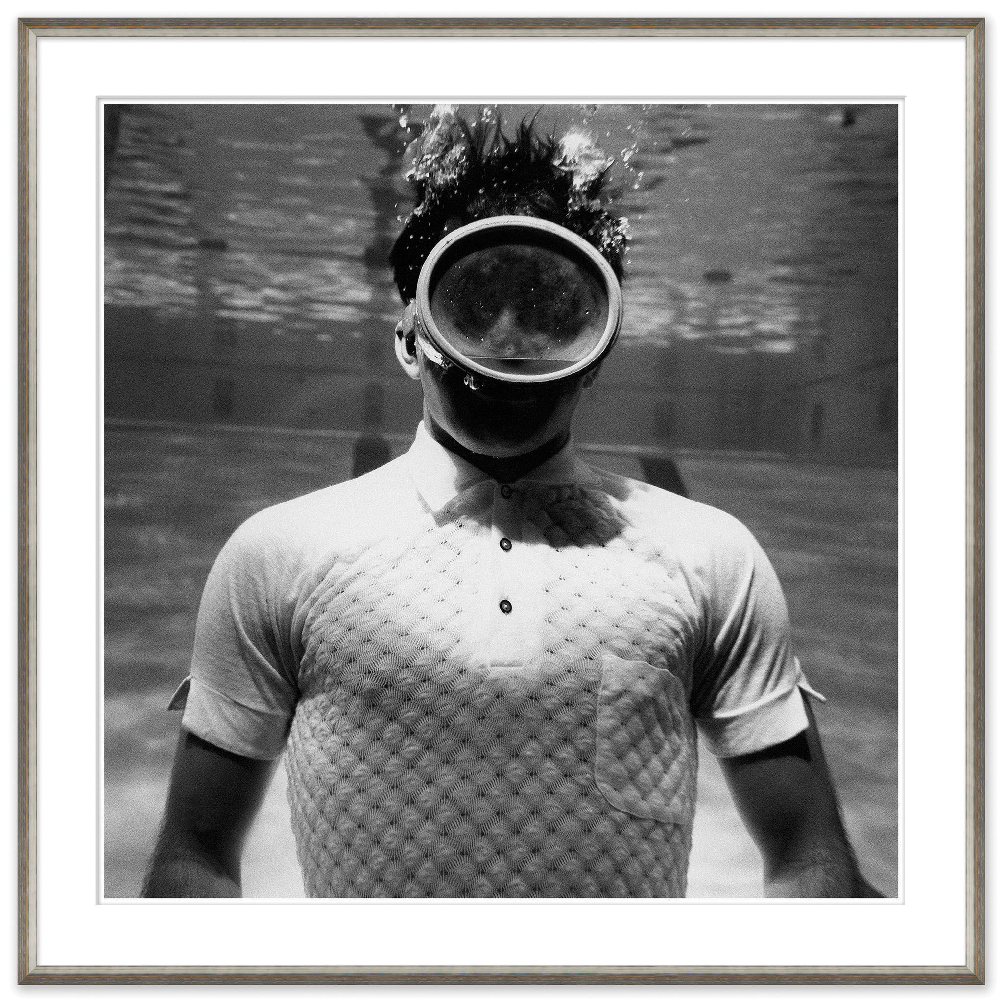 """MAN UNDERWATER"", LEONARD NONES, APRIL 1961"
