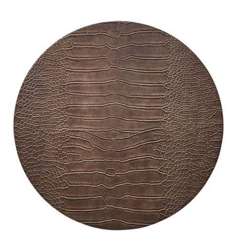 Croco Taupe Placemat - Set of 2