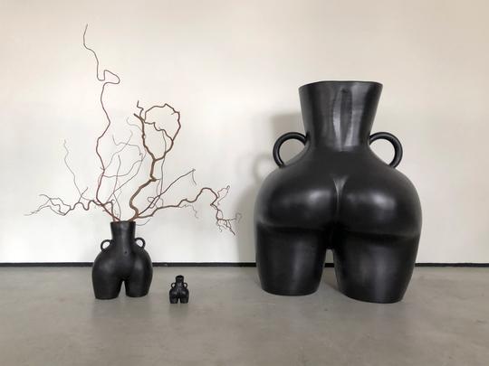 Anissa Kermiche - Love Handles Vase (Black)