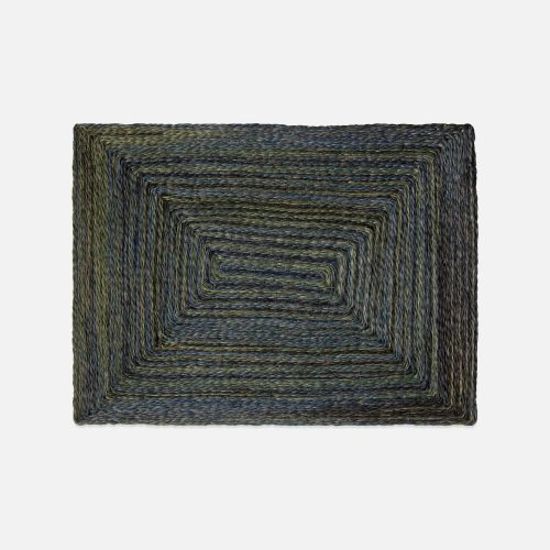 Maddox Mixed Blue/Green Rectangle Placemat - Set of 2