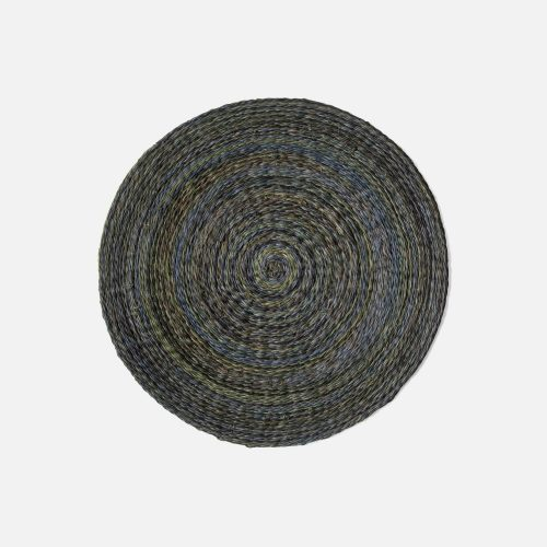 Maddox Mixed Blue/Green Round Placemat - Set of 2