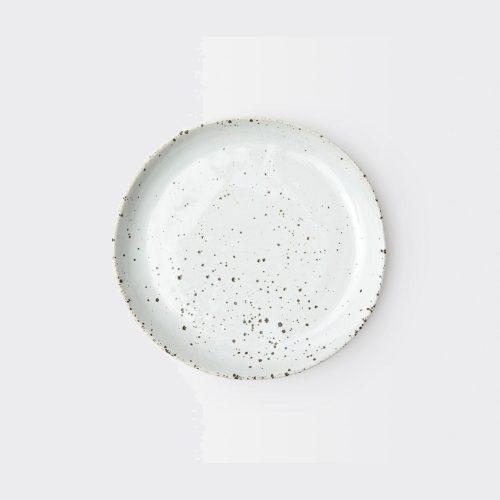 Marcus White Salt Glaze Salad/Dessert Plate