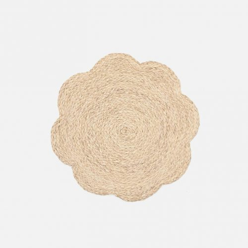 Vera Bleached Flower Placemat - Set of 2