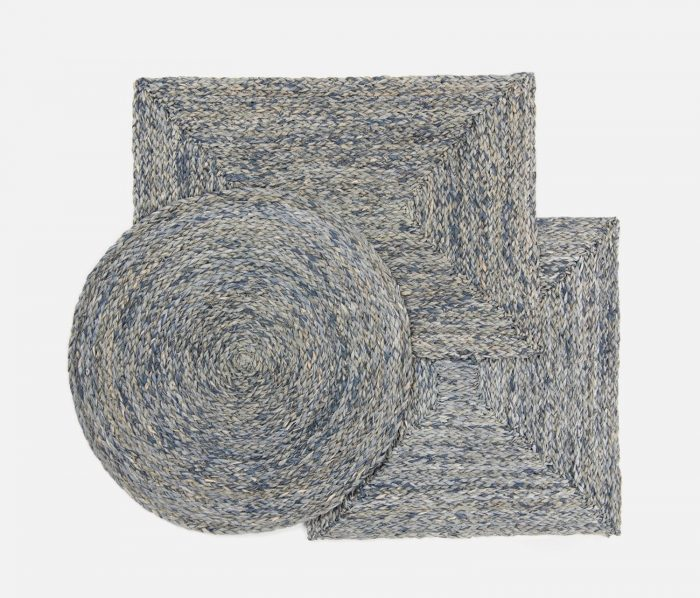 Zoey Slate Blue Placemat