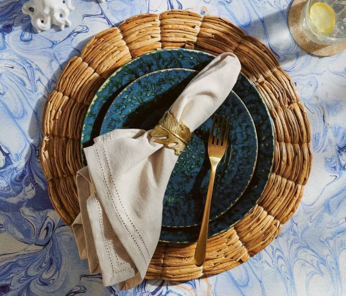 Blue Pheasant-Bria Teal Dinnerware