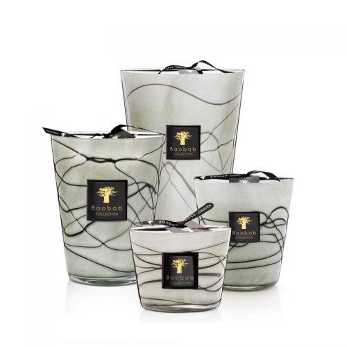 Baobab Candle Collection - FILO GRIGIO