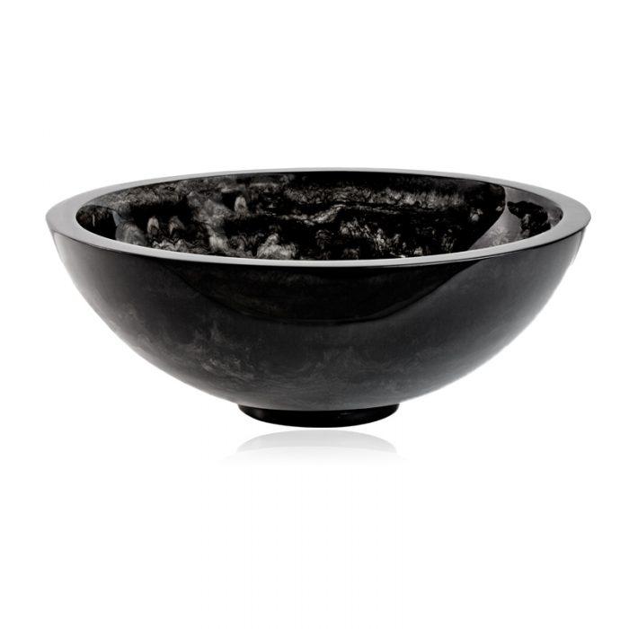 "Lily Juliet Portofino Bowl Charcoal - 17.5"""