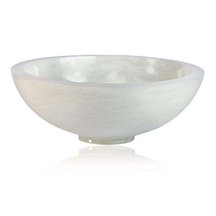 """Lily Juliet Remy Bowl White - 11.5"""""""