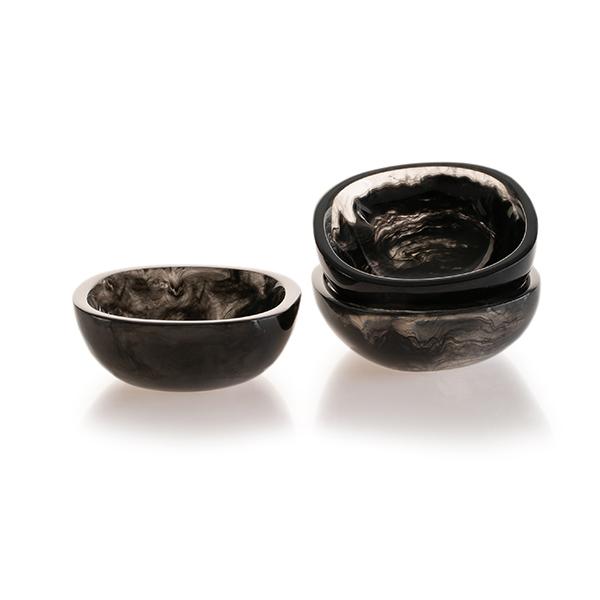 "Lily Juliet Tapas Bowl Charcoal - 4"""