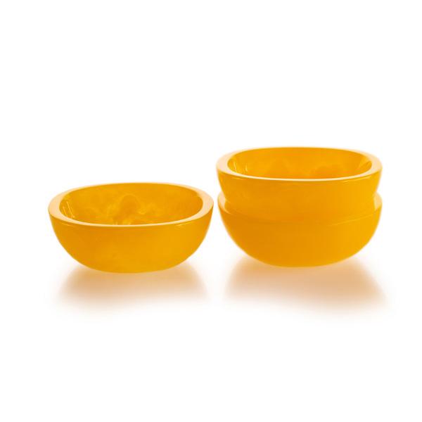 """Lily Juliet Tapas Bowl Yellow - 4"""""""