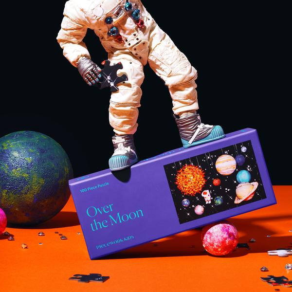 Over the Moon 1000 Piece Kids Jigsaw Puzzle
