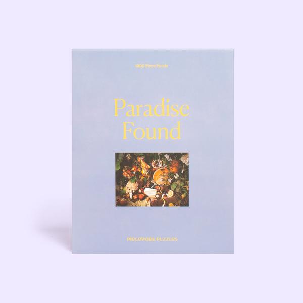 Paradise Found 1000 Piece Jigsaw Puzzle Set